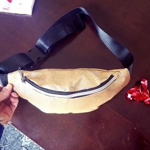 NEW Spacious Shimmer Glitter Belt Bag